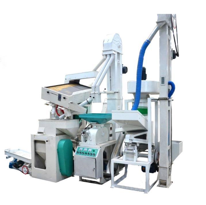 15Ton/Day Rice Mill Machine